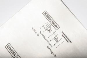 Laser sample markings